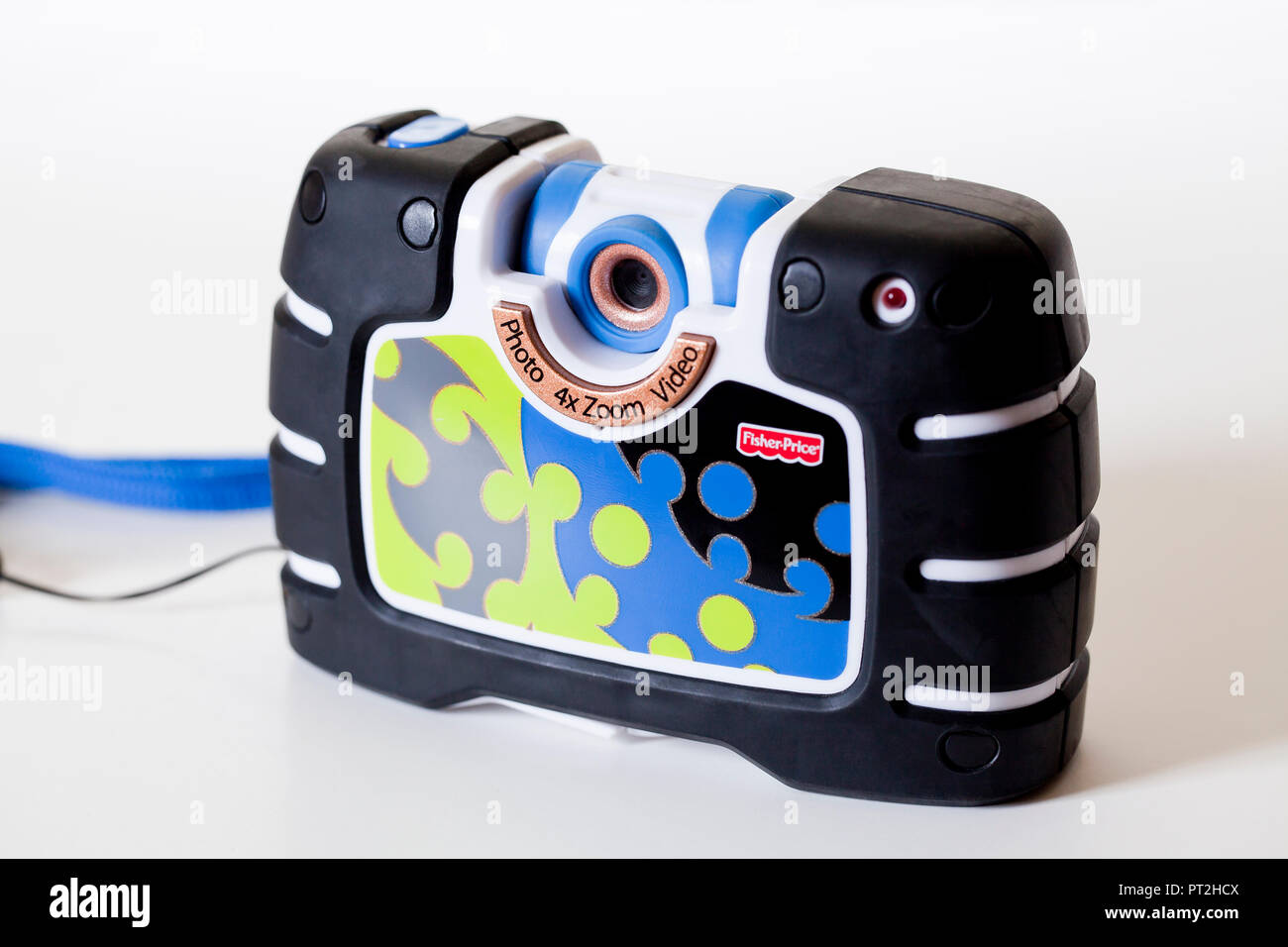Fisher-Price Kid-Tough See Yourself Camera (Children's toy digital camera) - USA - Stock Image