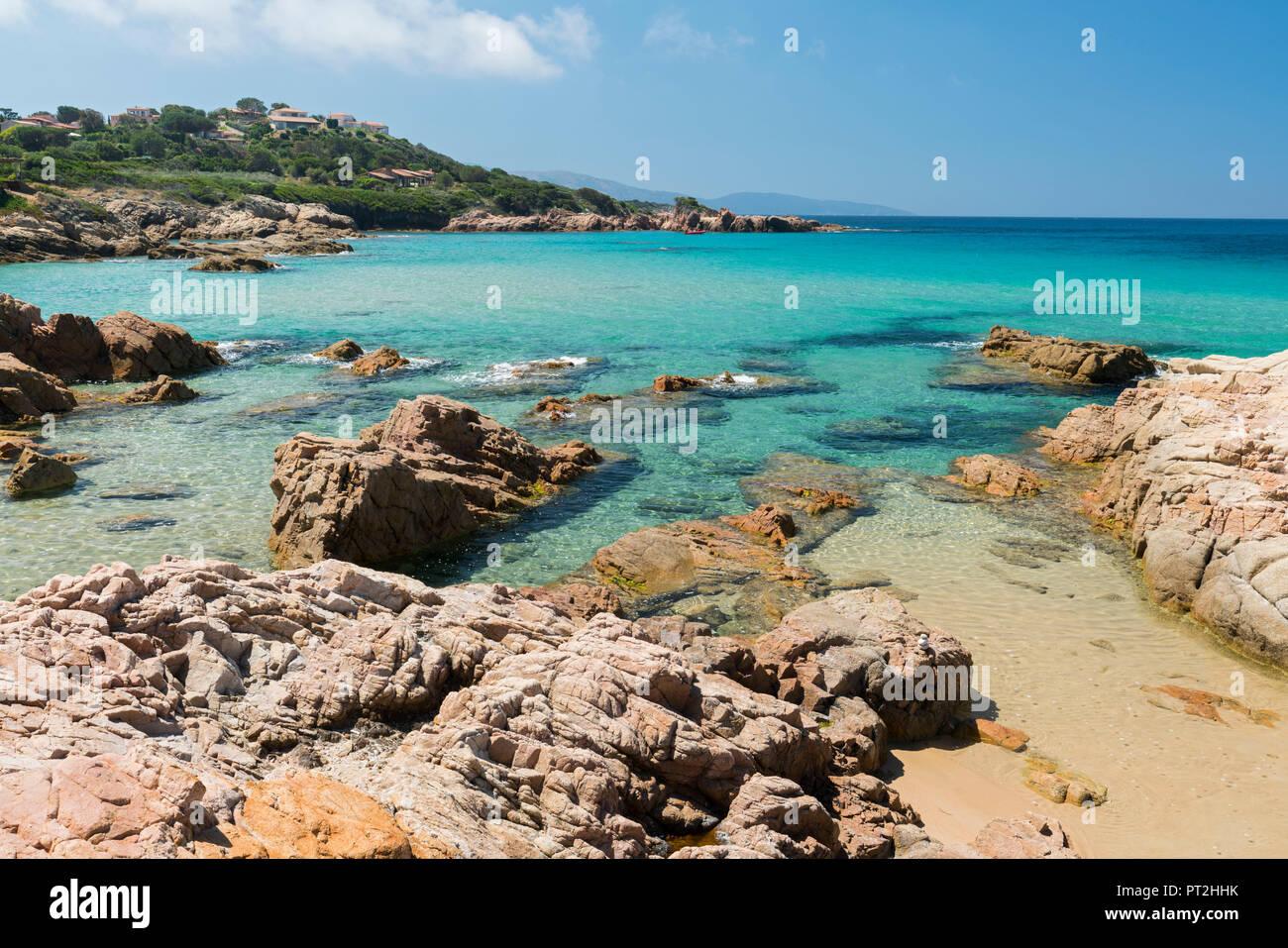 Plage d'Esigna, Sagone, Corsica, France - Stock Image