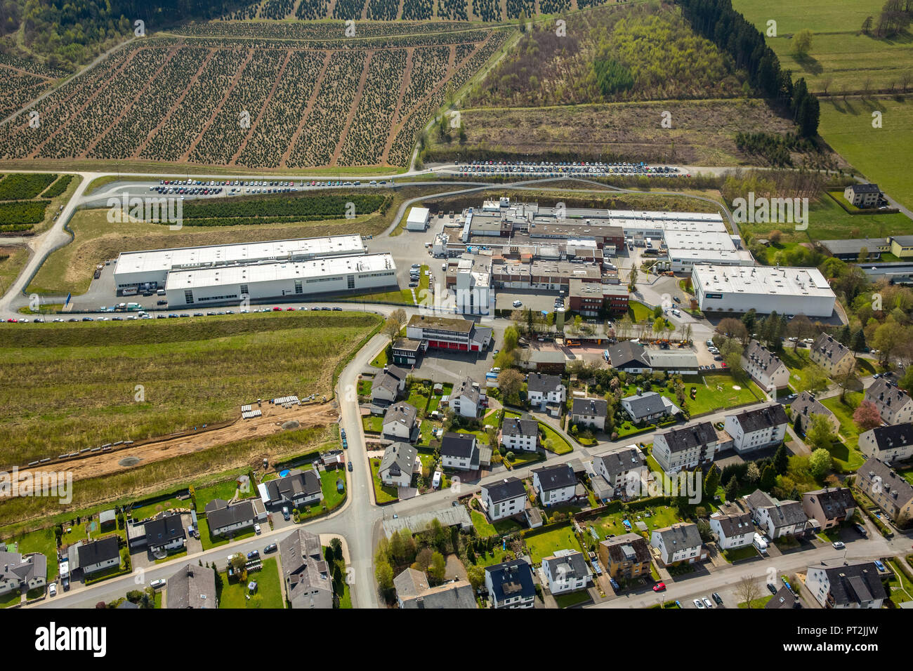 Alcoa Power and Propulsion, www.alcoa.com, Bestwig, Sauerland, North Rhine-Westphalia, Germany - Stock Image