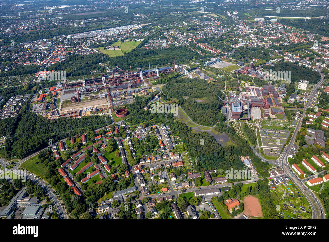 Zollverein Essen-Katernberg, Essen, North Rhine-Westphalia, Germany - Stock Image