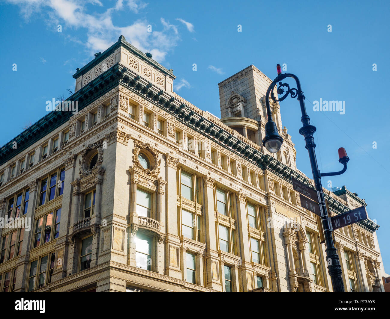 Department Store At 620 Sixth Avenue In The Flatiron District Designed By DeLemos Cordes New York City NY USA