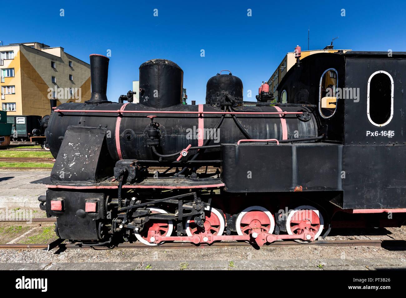 Europe, Poland, Voivodeship Masovian, The Narrow Gauge Railway Museum in Sochaczew - Stock Image