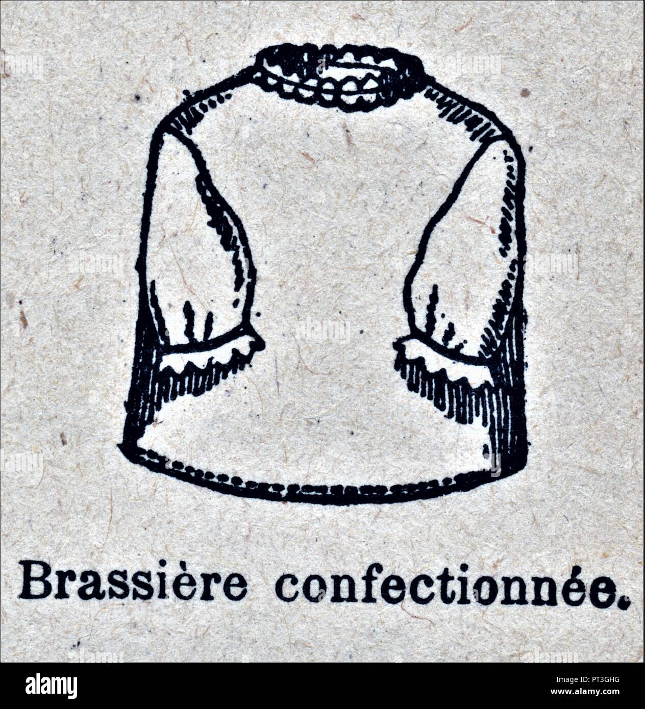 BRASSIERE CONFECTIONNEE - Stock Image
