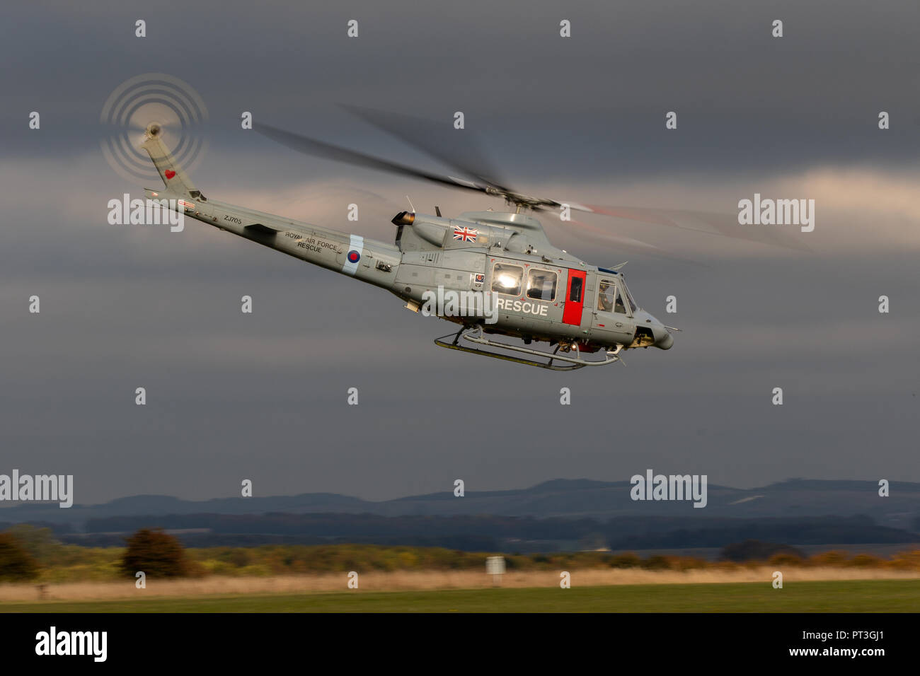 Bell - 412EP Griffin HAR.2 Helicopter - Stock Image
