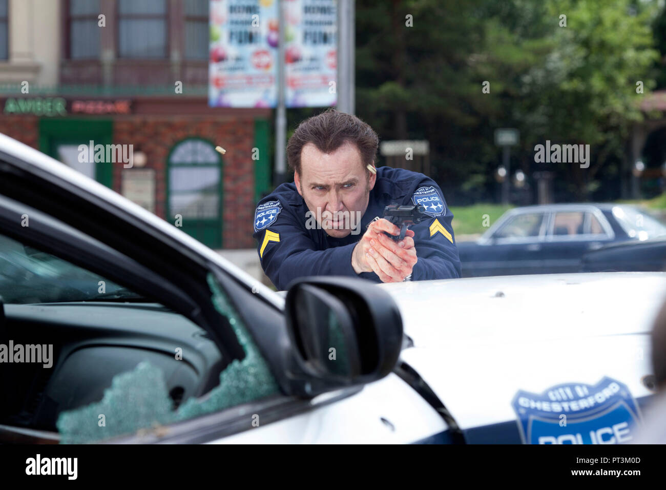 Prod DB © Elena Nenkova - Millennium Films - 211 Productions - Nu Image Bulgaria / DR 211 de York Alec Shackleton 2018 USA Nicolas Cage. action; polic Stock Photo
