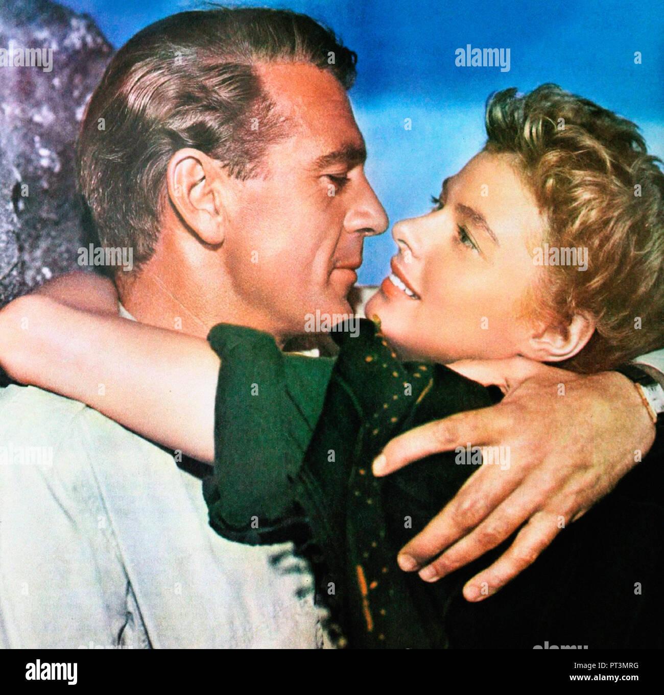 Prod DB © Paramount Pictures / DR POUR QUI SONNE LE GLAS FOR WHOM THE BELL TOLLS de Sam Wood 1942 USA Gary Cooper Ingrid Bergman. guerre d'Espagne; sp - Stock Image