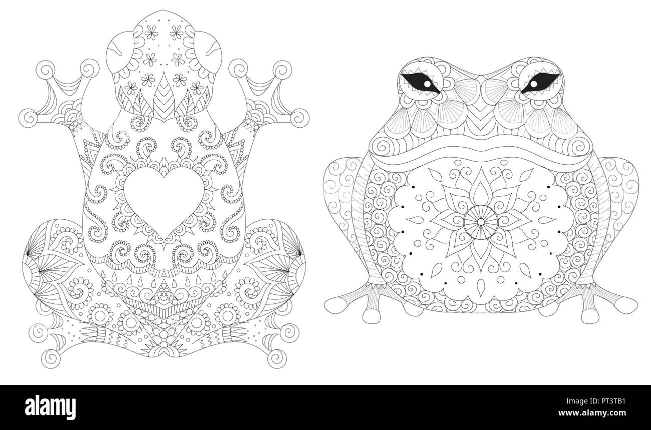 - Frogs Collection For Design Element,tattoo, Print On Product And