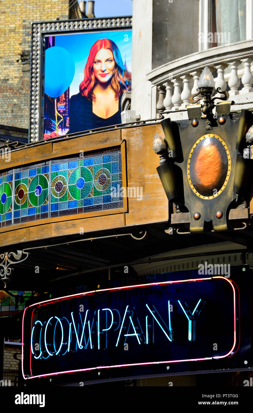 Company' (Stephen Sondheim musical) at the Gielgud Theatre