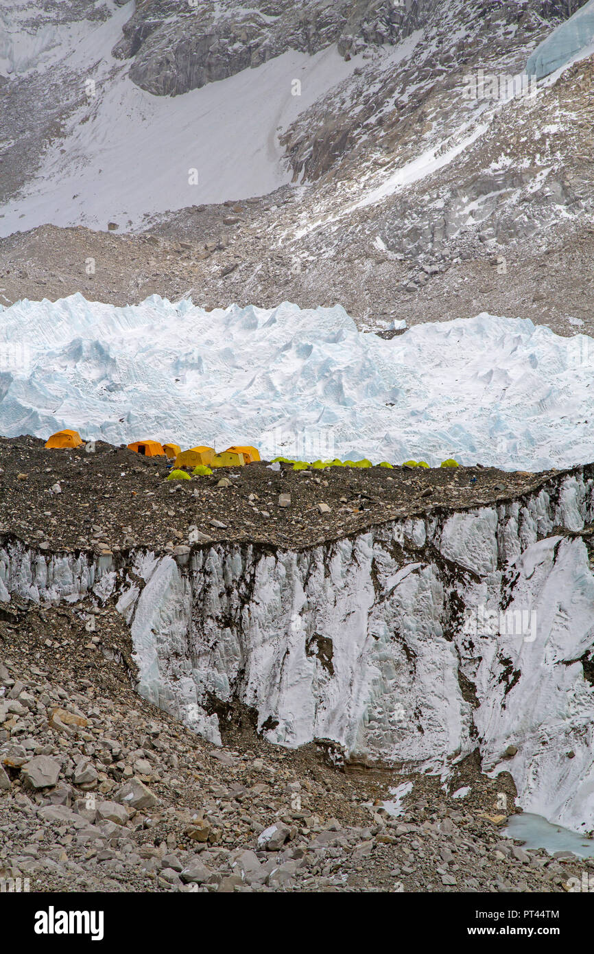 Everest Base Camp - Stock Image