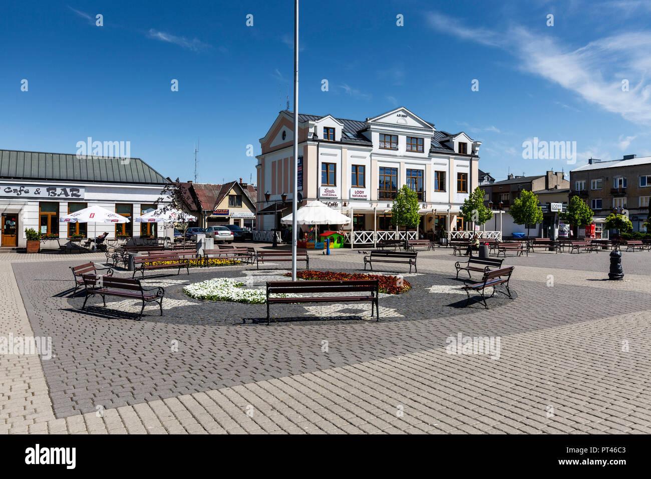 Europa, Poland, Voivodeship Masovian, Sochaczew - Stock Image