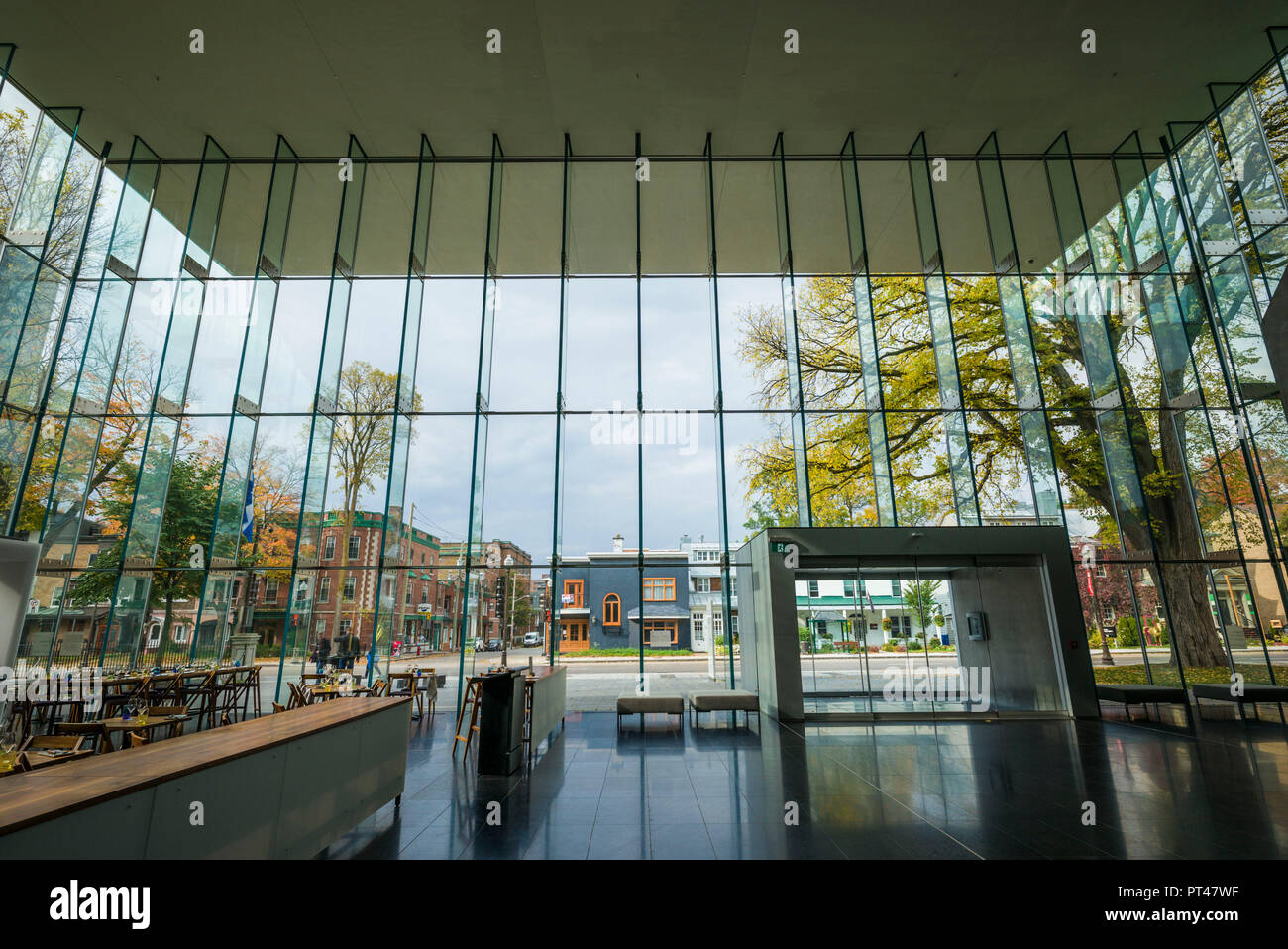 Canada, Quebec, Quebec City, Musee National des Beaux-Arts du Quebec, MNBAQ, pavillon Pierre-Lassonde, 2016, interior Stock Photo