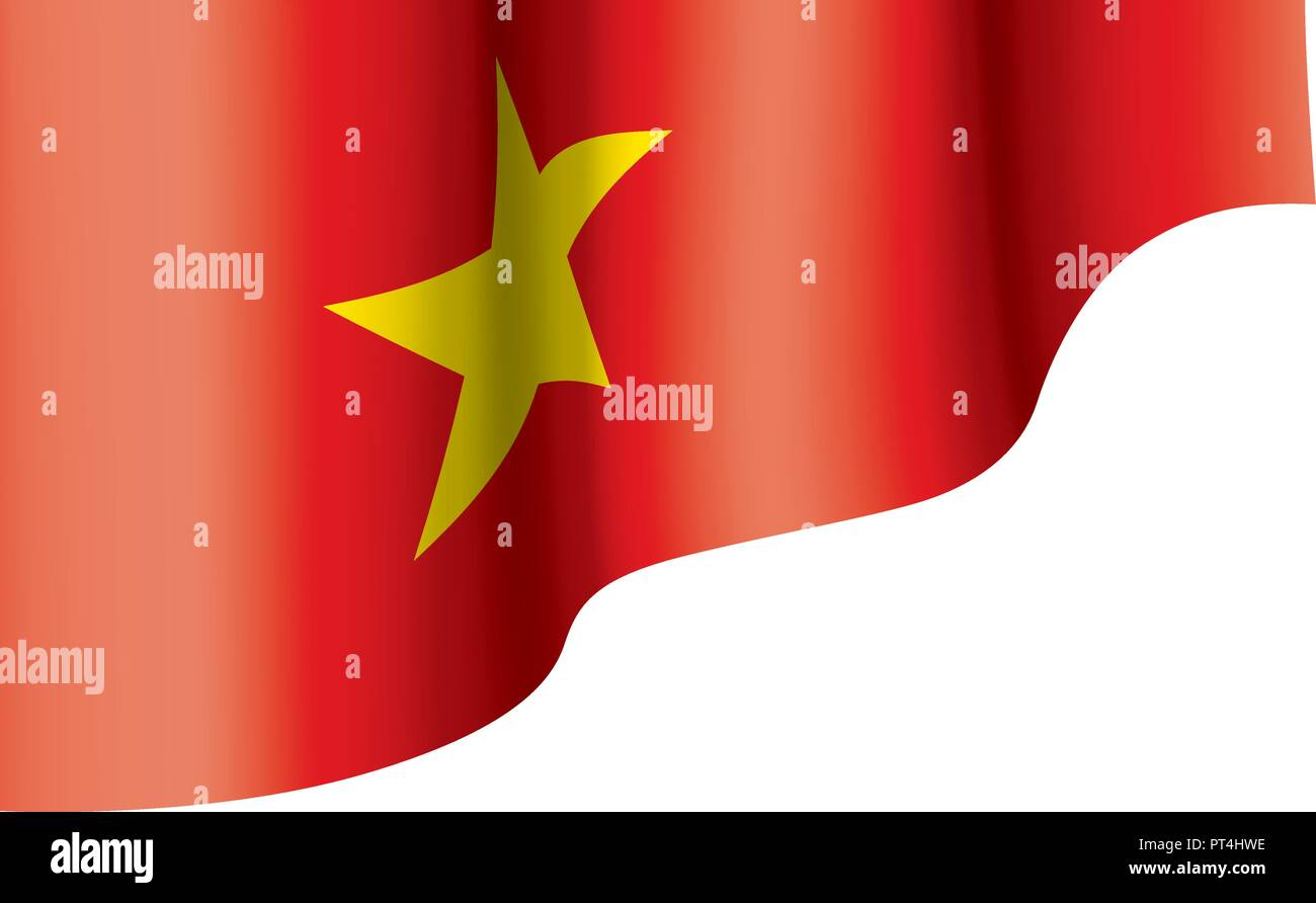Vietnam Flag Vector Illustration On A White Background Stock Vector Image Art Alamy
