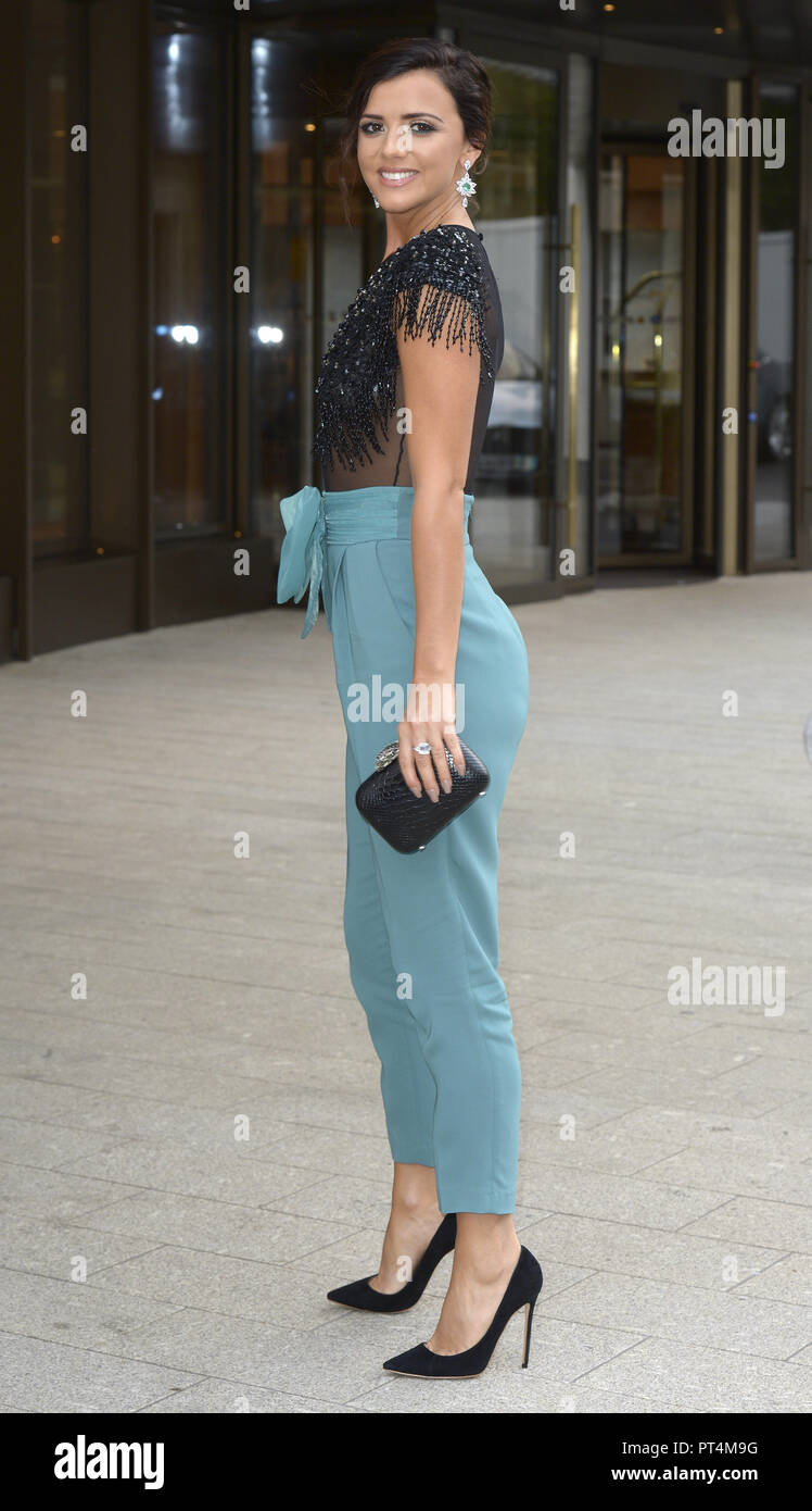 Various celebrities attend WellChild Awards 2018 - Arrivals  Featuring: Lucy Mecklenburgh Where: London, United Kingdom When: 05 Sep 2018 Credit: WENN.com - Stock Image