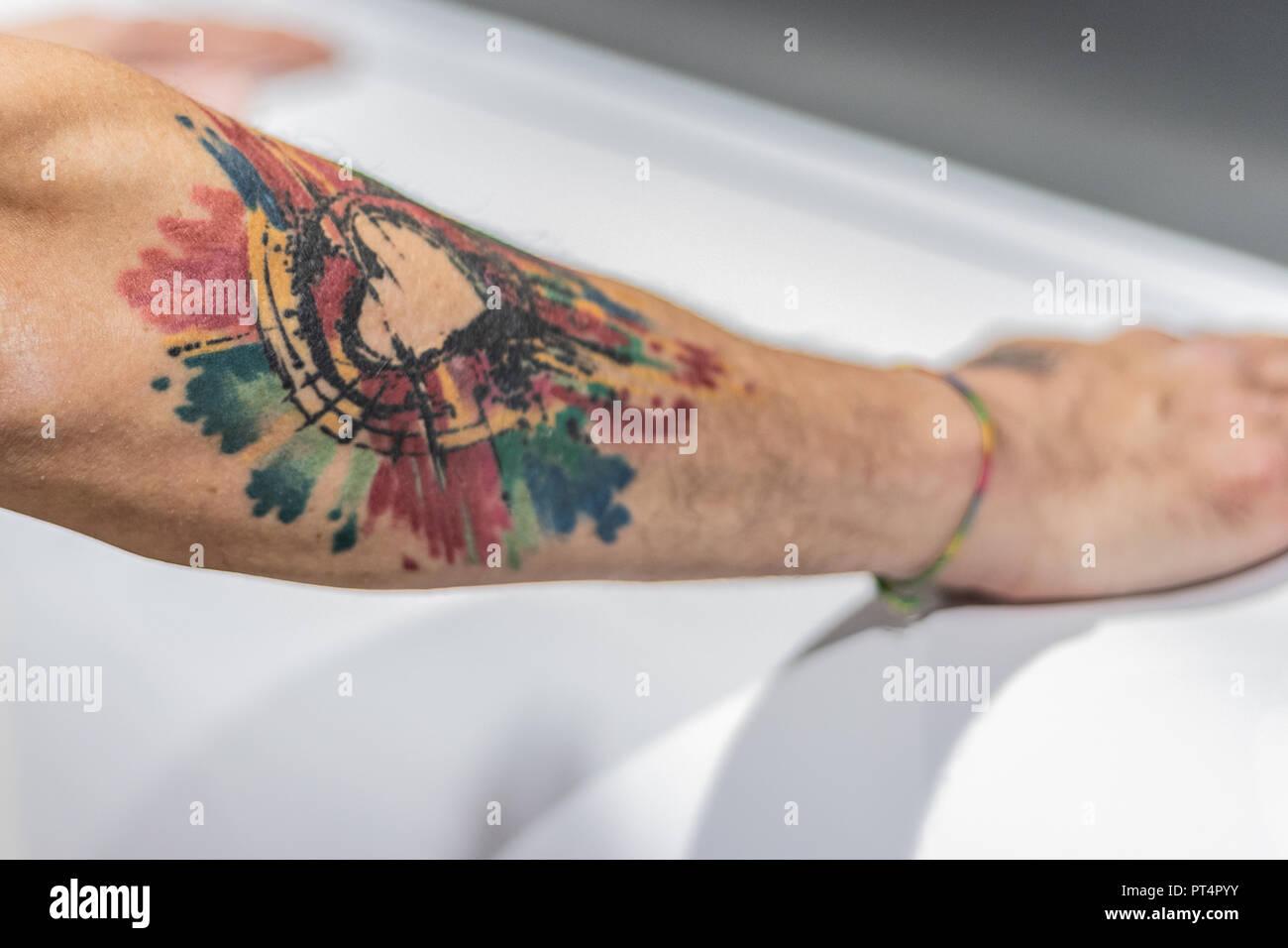 Large Tattoo Stock Photos & Large Tattoo Stock Images - Alamy