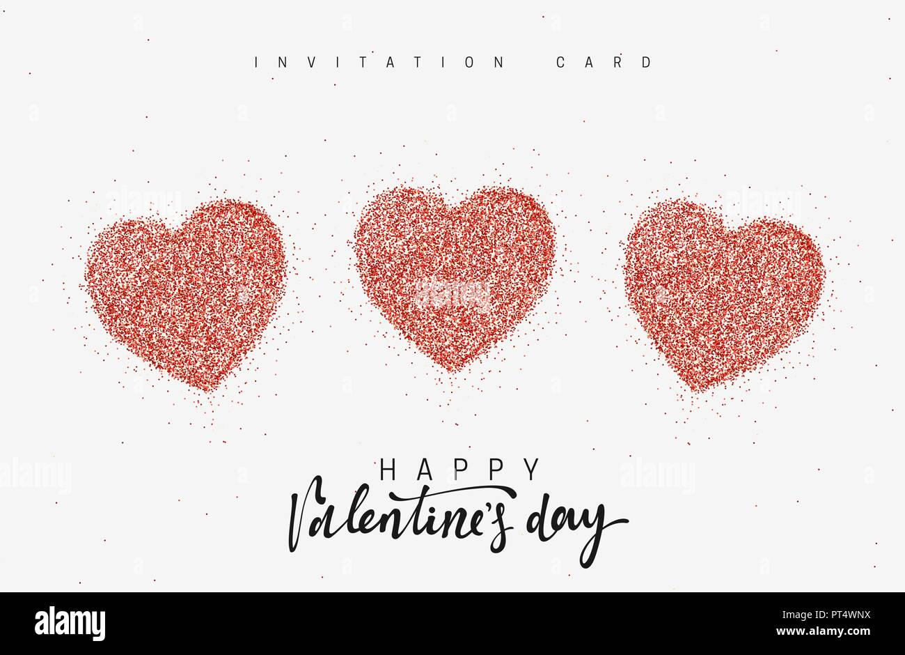 Happy Valentines Day Greeting Cards Holiday Phrase For Design Of