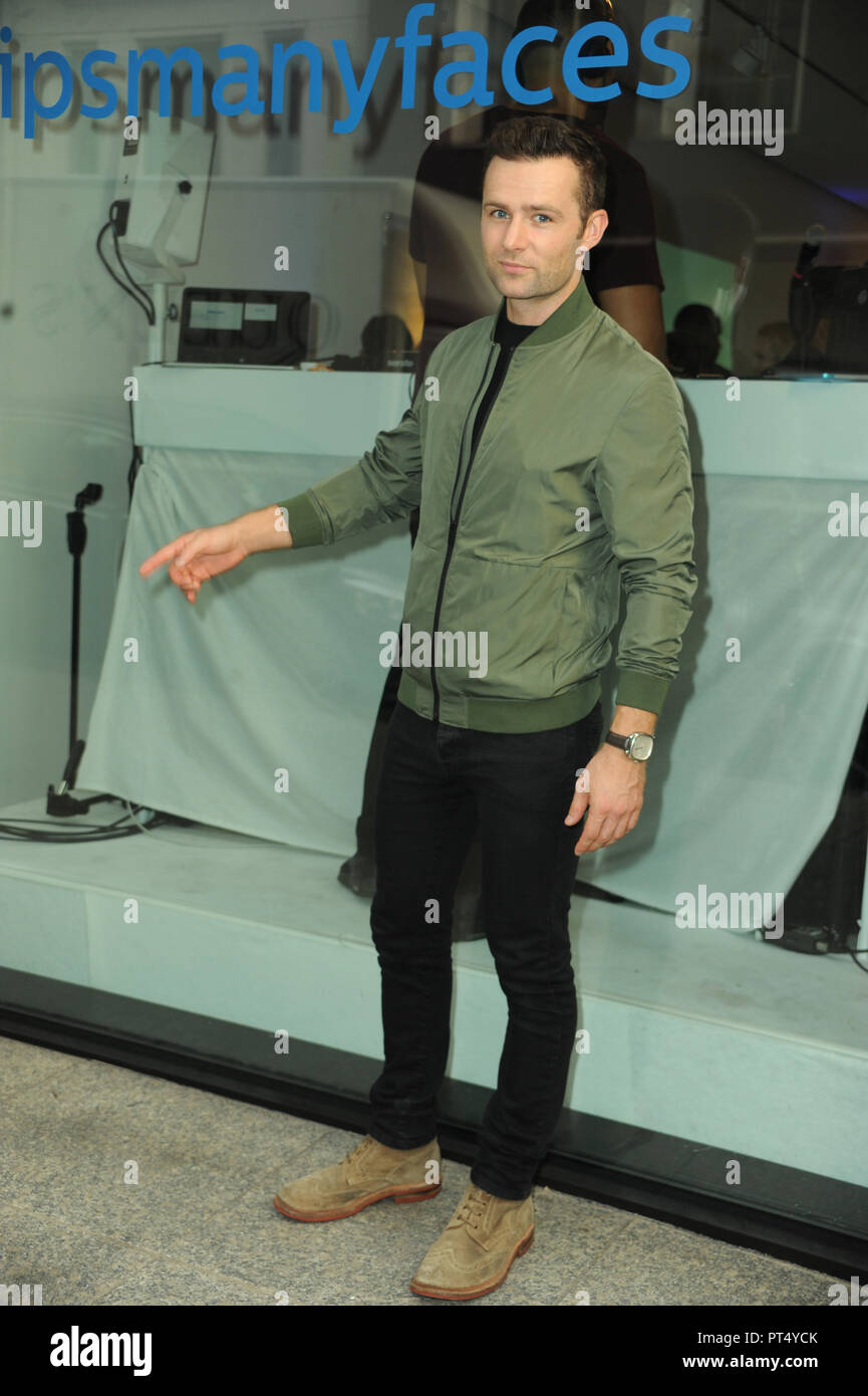 Many Faces of Man by Philips event in London  Featuring: Harry Judd Where: London, United Kingdom When: 05 Sep 2018 Credit: WENN.com - Stock Image