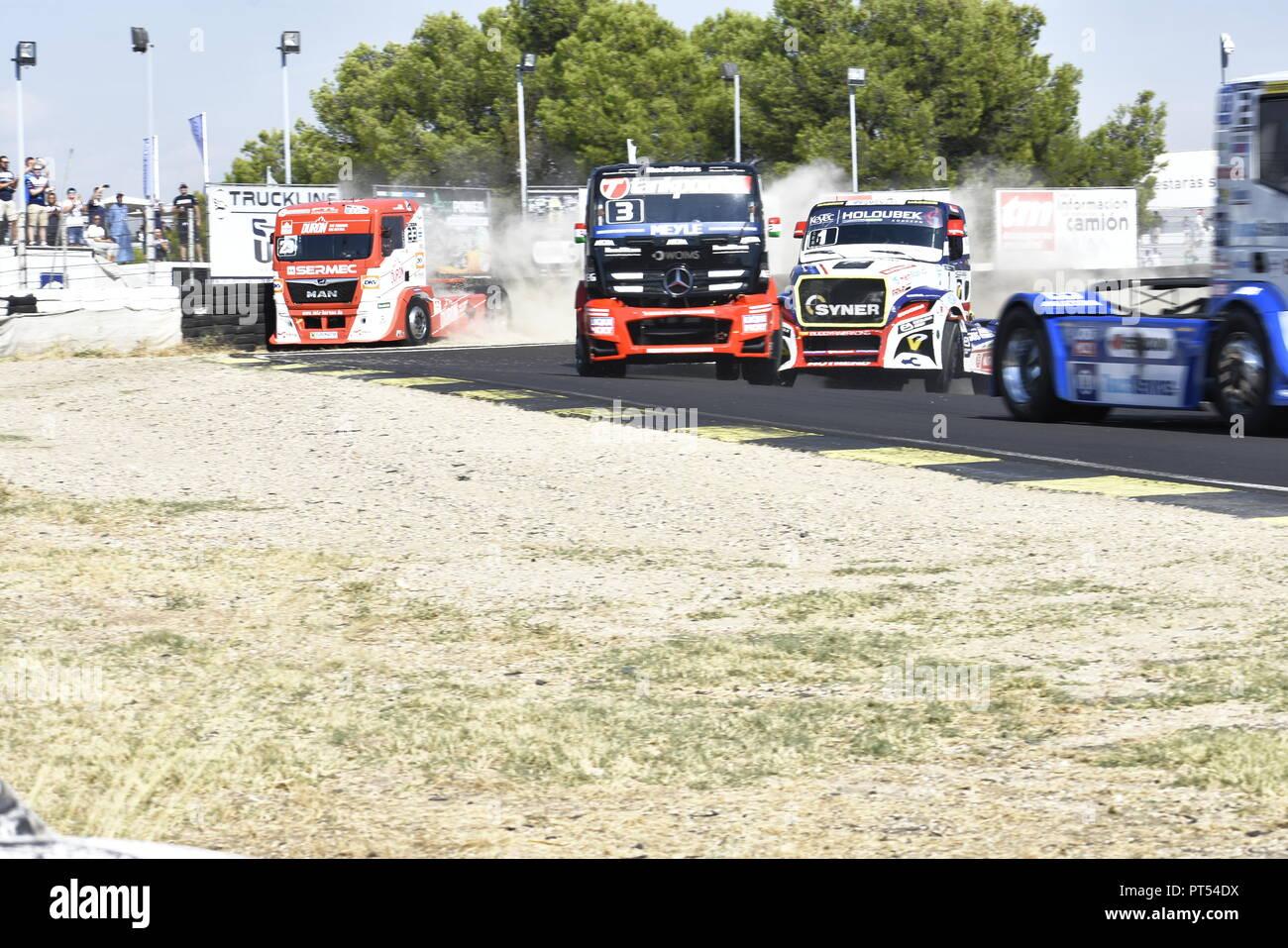 Madrid, Spain  6th Oct 2018  Permanent circuit of Jarama