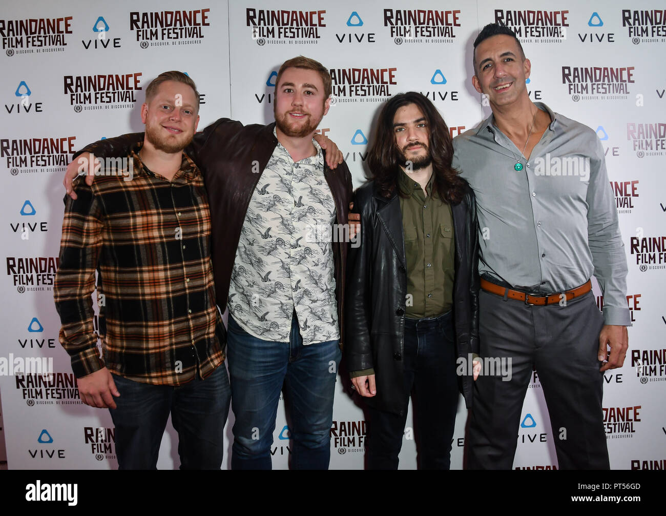 London, UK. 6th October 2018. Nothing Like You Production's - The Archivist:VR Nominated attends the Raindance Film Festival - VR Awards, London, UK. 6 October 2018. Credit: Picture Capital/Alamy Live News - Stock Image
