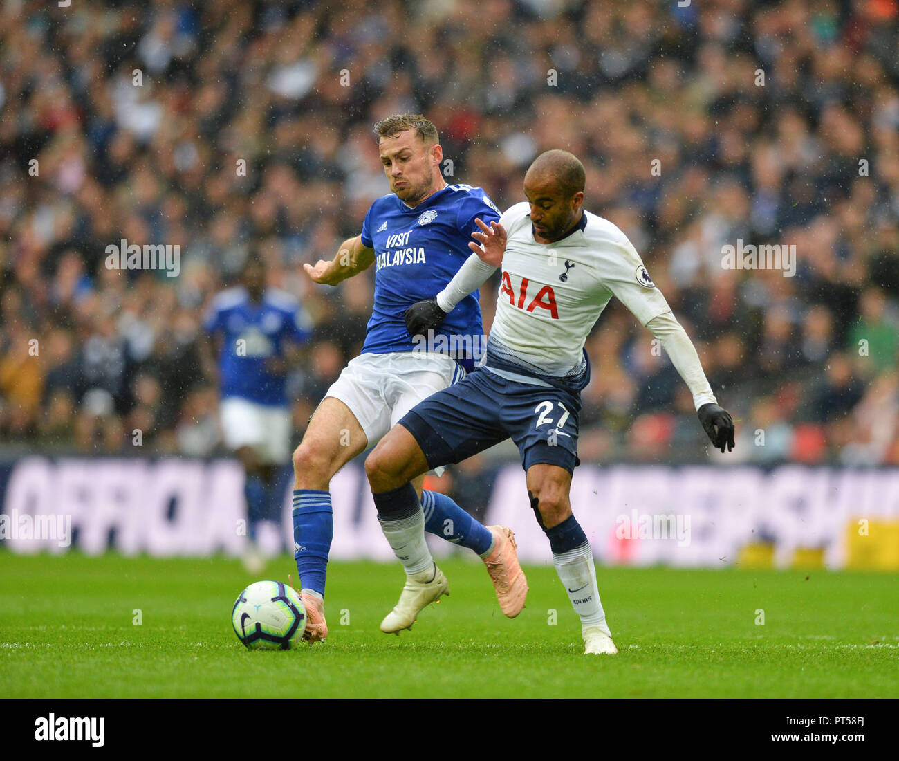 Paris Saint Germain S Lucas Moura Arrives For Tottenham: Lucas Moura Stock Photos & Lucas Moura Stock Images