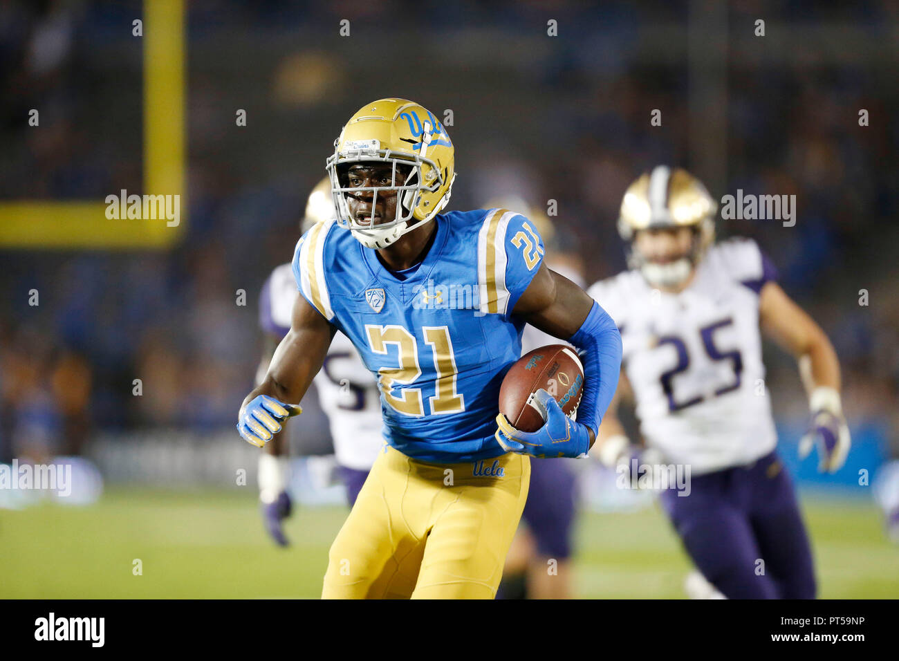 huge selection of e2daa b99a8 October 06, 2018 UCLA Bruins wide receiver Michael Ezeike ...