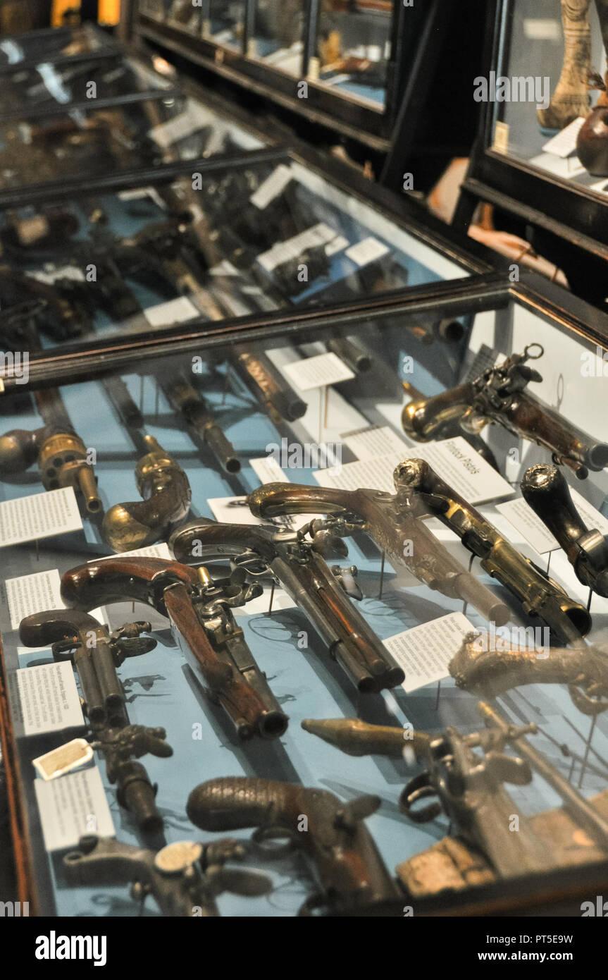 Pitt Rivers Museum, Oxford - Stock Image