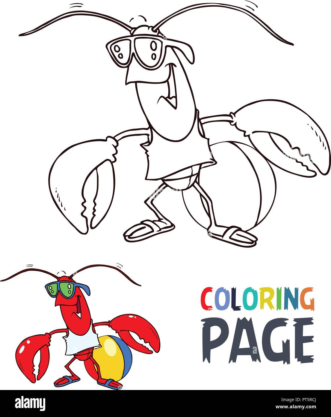 6800 Top Coloring Pages Of Cartoon Crab  Images