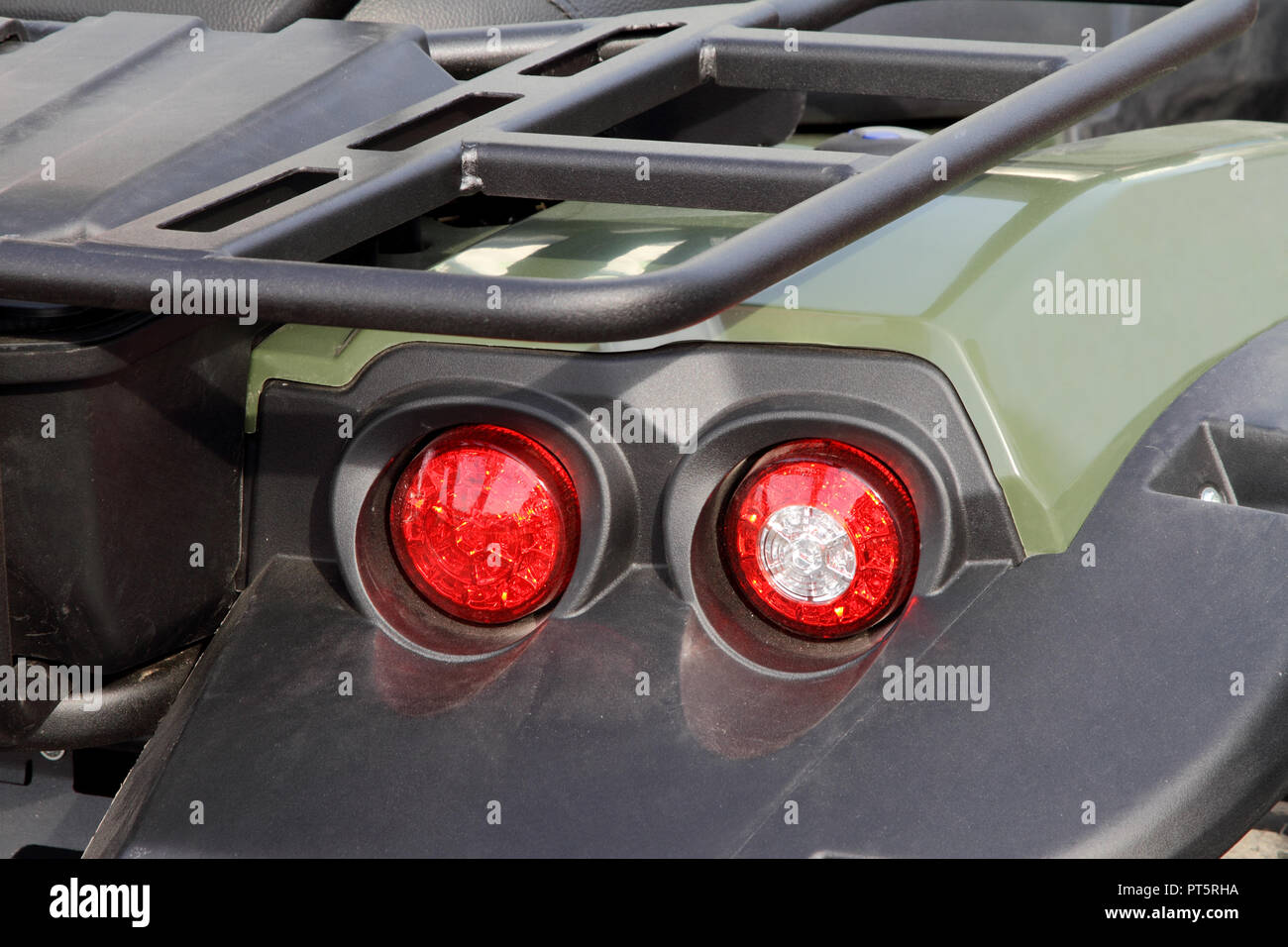LED lamps of the modern ATV. - Stock Image