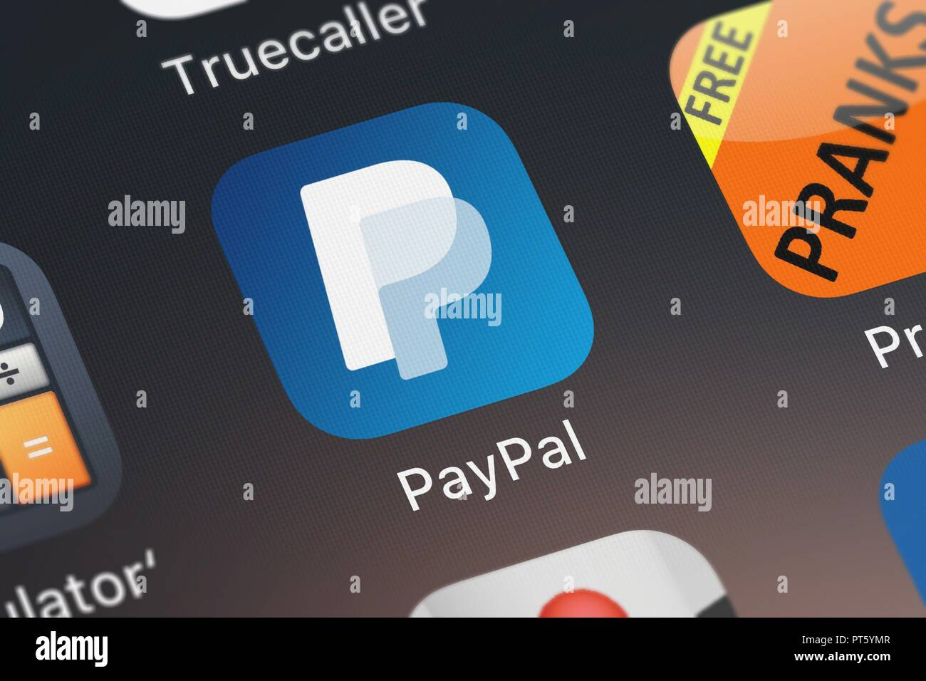 London, United Kingdom - October 06, 2018: The PayPal