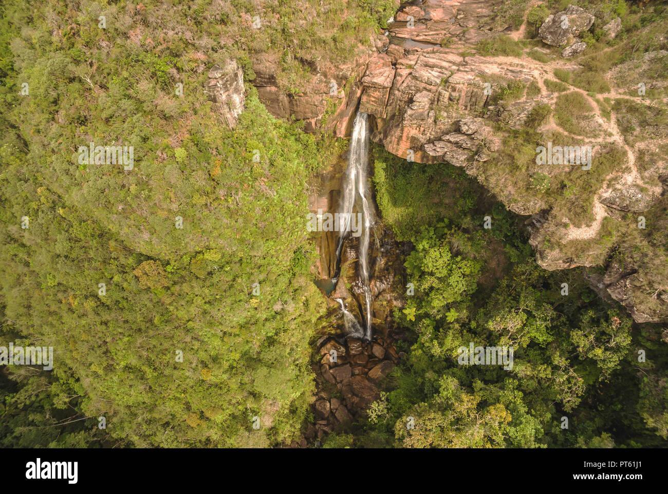 Foto aérea - Stock Image