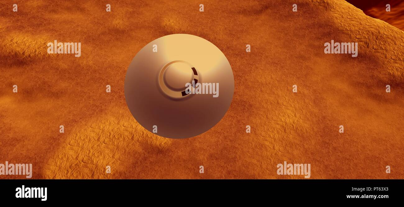 Zeta Reticuli Alien Planet Stock Photos & Zeta Reticuli Alien Planet