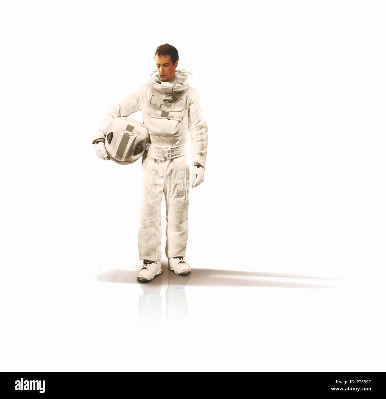 Original film title: MOON. English title: MOON. Year: 2009. Director: DUNCAN JONES. Stars: SAM ROCKWELL. Credit: XINGU FILMS / TILLE, MARK / Album - Stock Image
