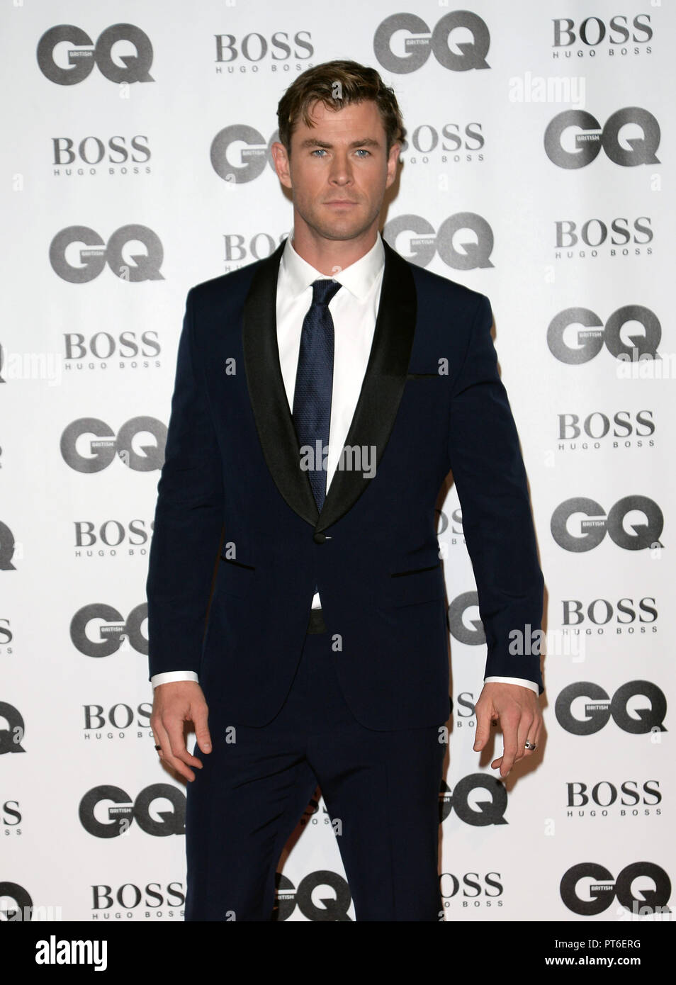 GQ Men Of The Year Awards at The Tate Modern  Featuring: Chris Hemsworth Where: London, United Kingdom When: 05 Sep 2018 Credit: Tony Oudot/WENN Stock Photo