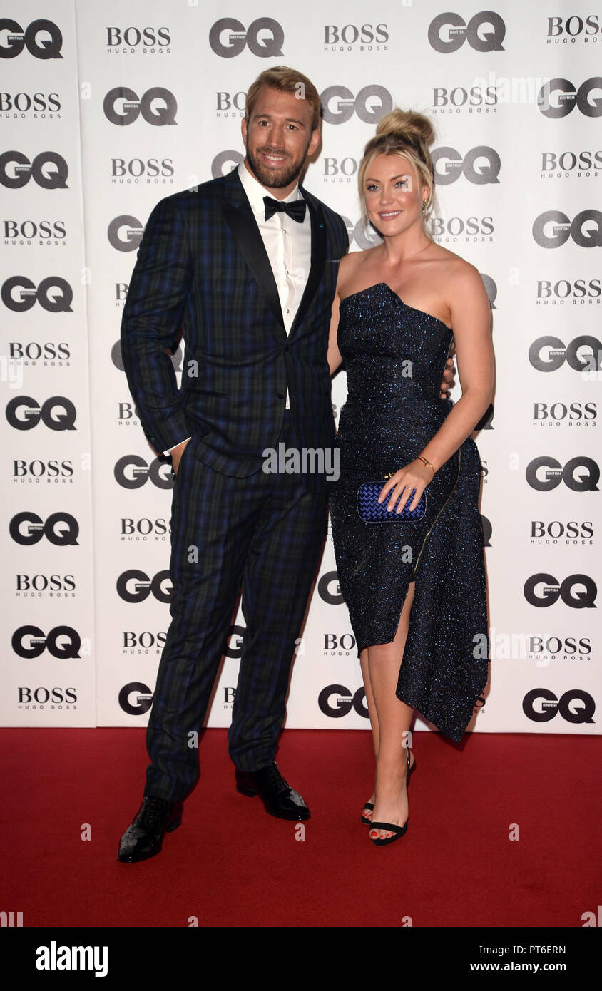 GQ Men Of The Year Awards at The Tate Modern  Featuring: Chris Robshaw Where: London, United Kingdom When: 05 Sep 2018 Credit: Tony Oudot/WENN - Stock Image