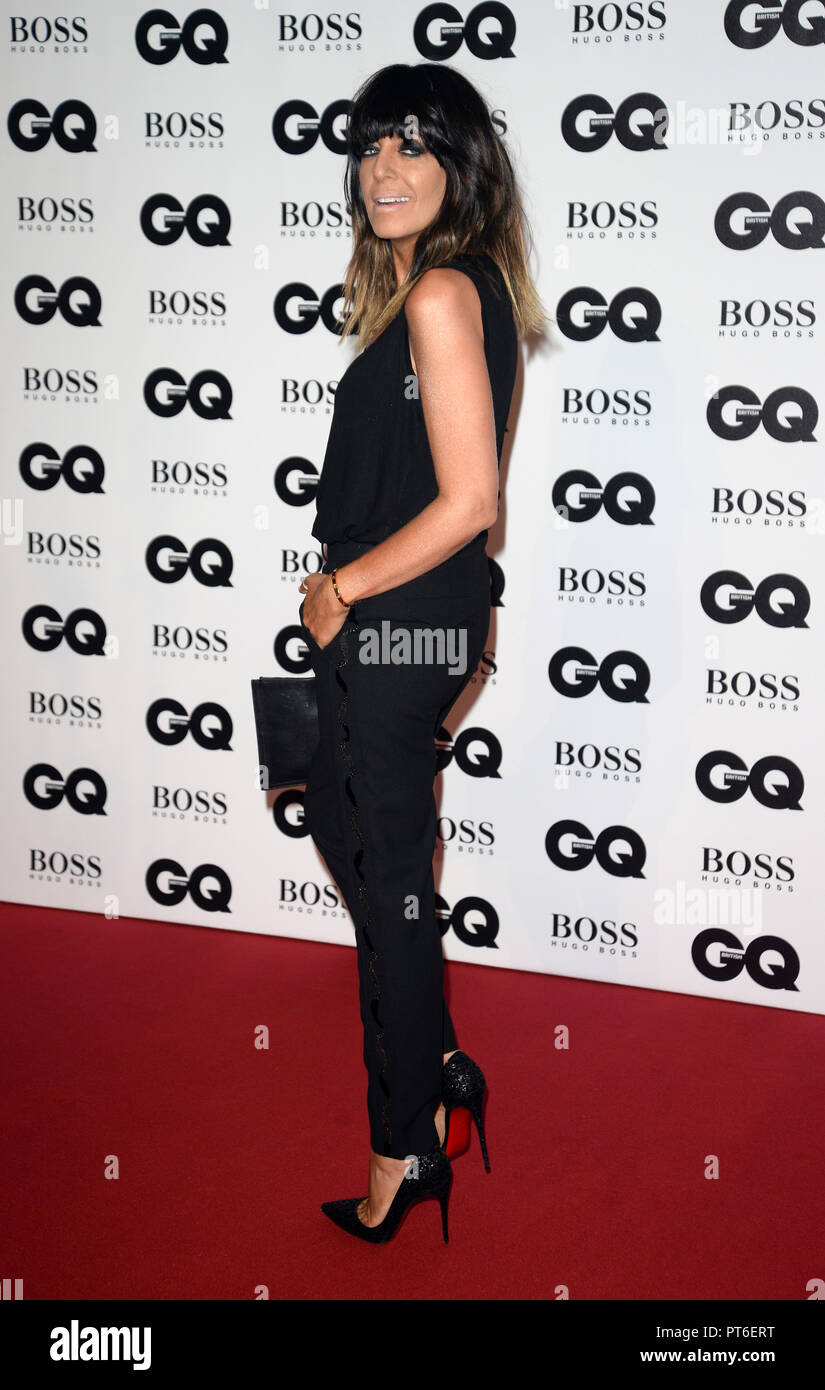 GQ Men Of The Year Awards at The Tate Modern  Featuring: Claudia Winkleman Where: London, United Kingdom When: 05 Sep 2018 Credit: Tony Oudot/WENN - Stock Image