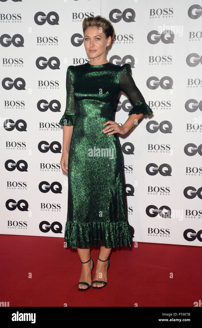 GQ Men Of The Year Awards at The Tate Modern  Featuring: Emma Willis Where: London, United Kingdom When: 05 Sep 2018 Credit: Tony Oudot/WENN - Stock Image