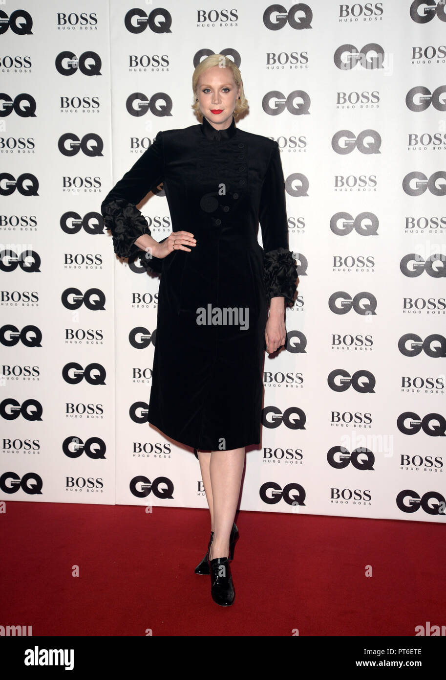 GQ Men Of The Year Awards at The Tate Modern  Featuring: Gwendoline Christie Where: London, United Kingdom When: 05 Sep 2018 Credit: Tony Oudot/WENN - Stock Image