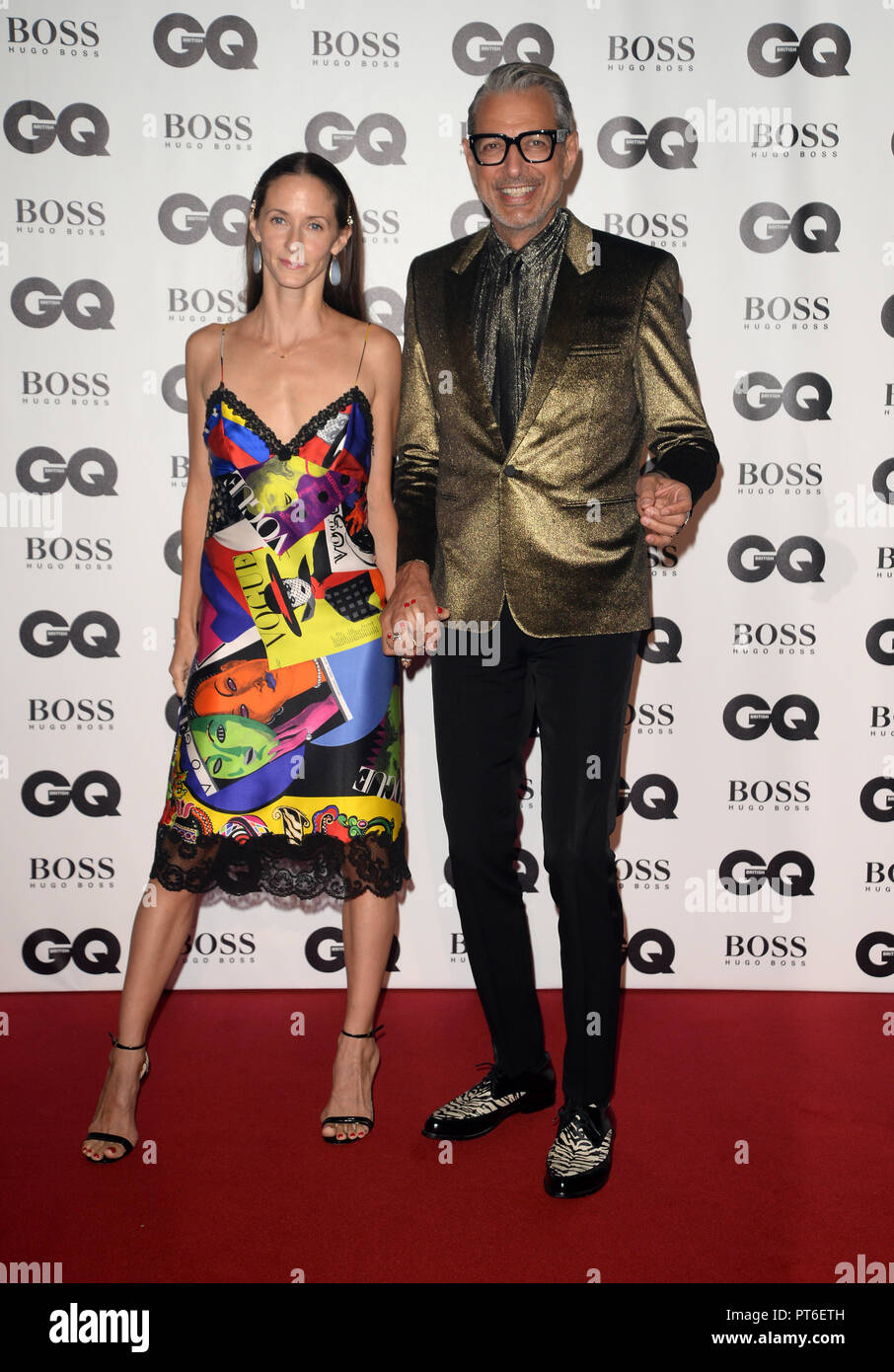 GQ Men Of The Year Awards at The Tate Modern  Featuring: Jeff Goldblum Where: London, United Kingdom When: 05 Sep 2018 Credit: Tony Oudot/WENN - Stock Image