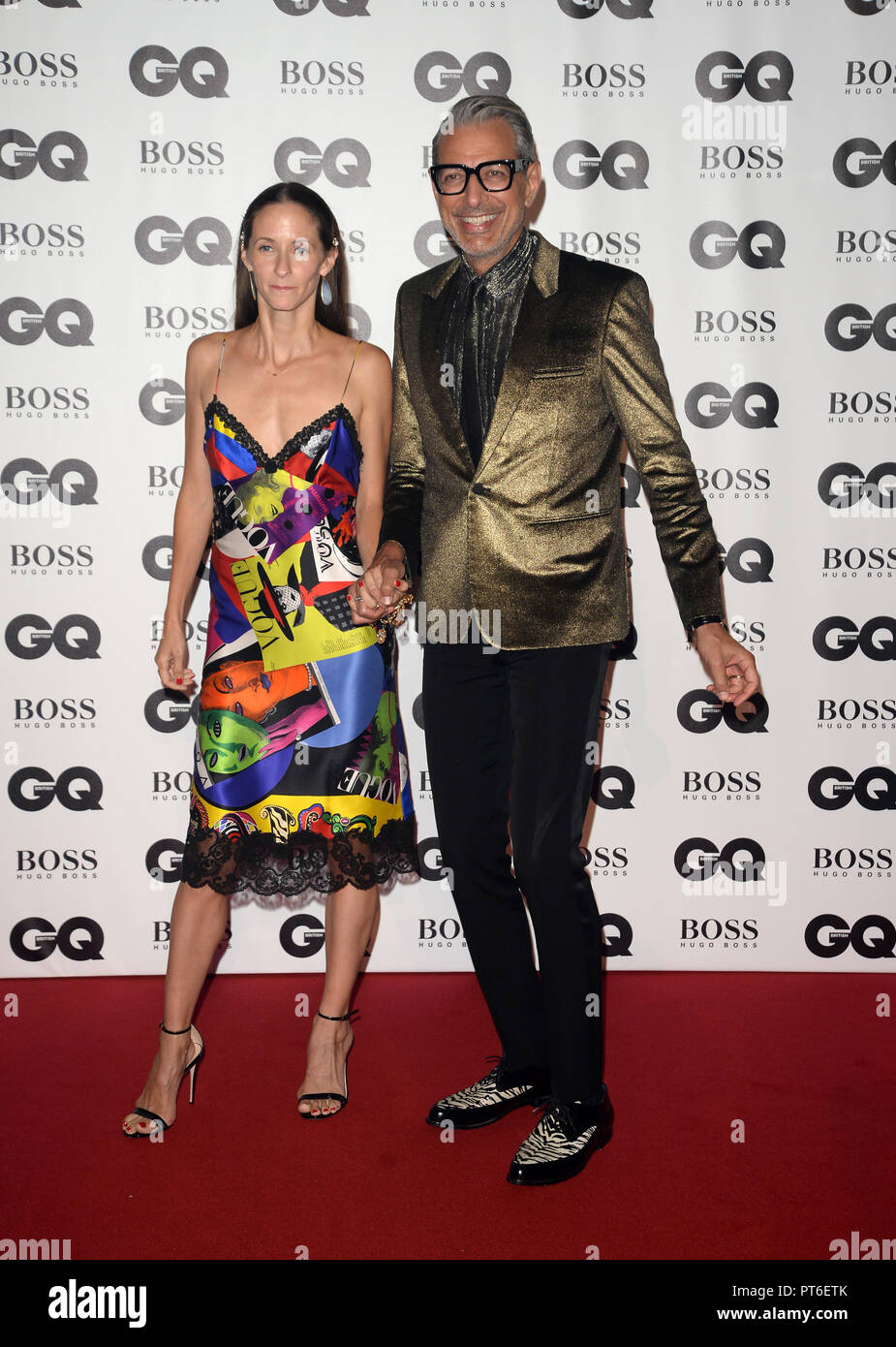 GQ Men Of The Year Awards at The Tate Modern  Featuring: Jeff Goldblum Where: London, United Kingdom When: 05 Sep 2018 Credit: Tony Oudot/WENN Stock Photo