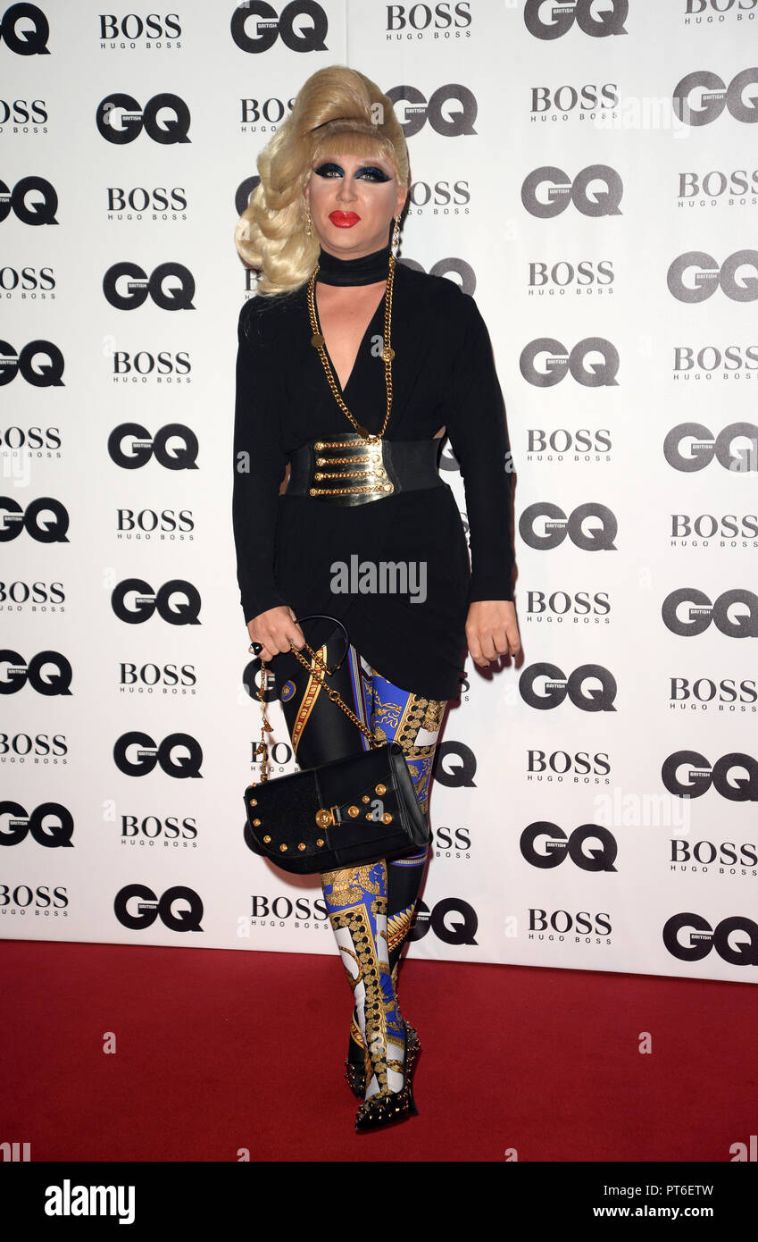 GQ Men Of The Year Awards at The Tate Modern  Featuring: Jodie Harsh Where: London, United Kingdom When: 05 Sep 2018 Credit: Tony Oudot/WENN - Stock Image