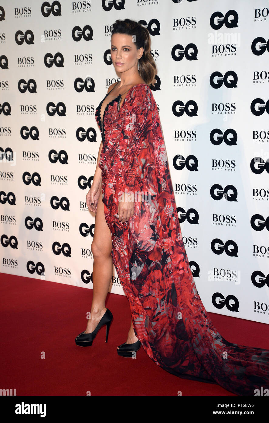 GQ Men Of The Year Awards at The Tate Modern  Featuring: Kate Beckinsale Where: London, United Kingdom When: 05 Sep 2018 Credit: Tony Oudot/WENN - Stock Image