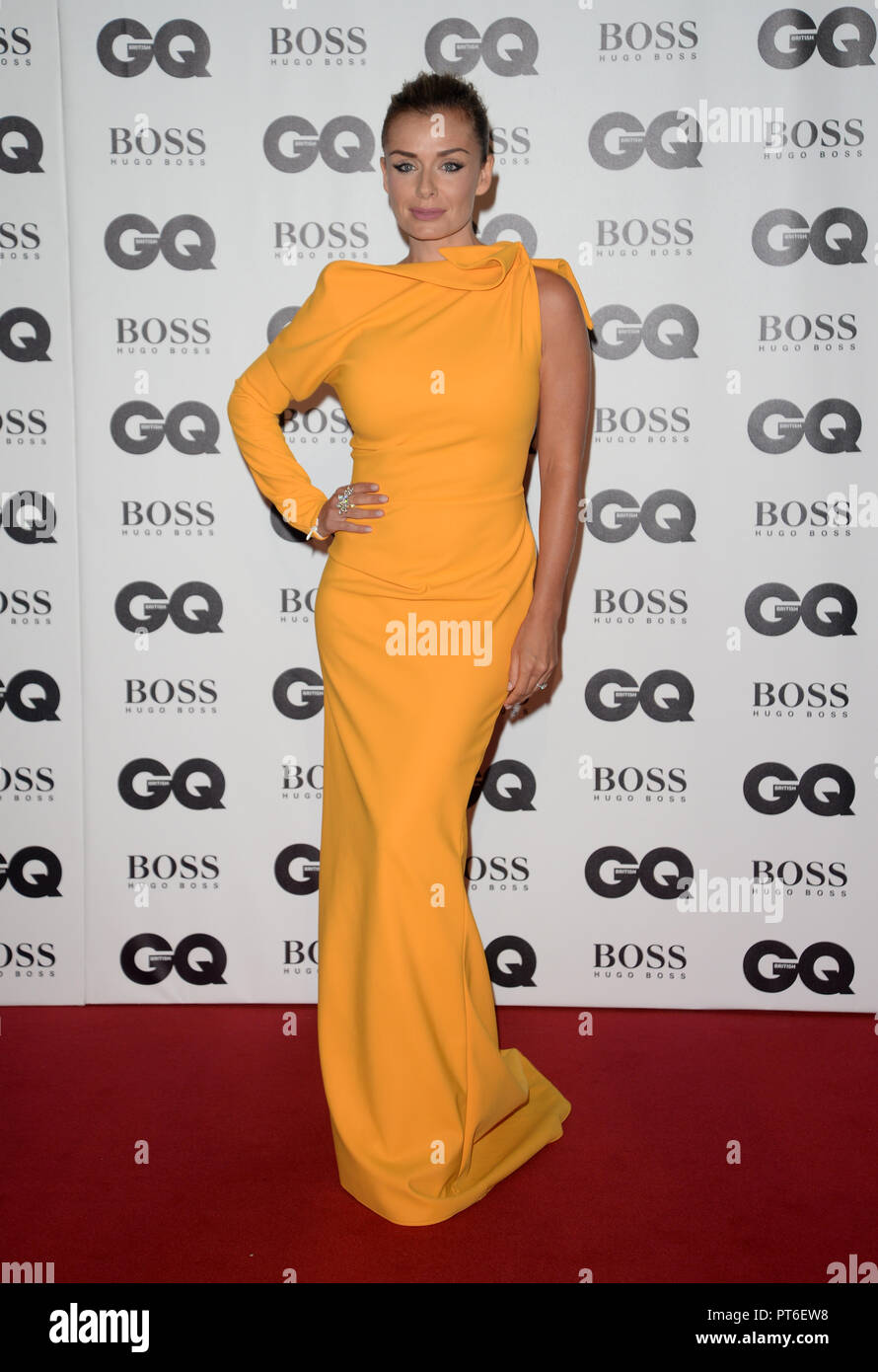 GQ Men Of The Year Awards at The Tate Modern  Featuring: Katherine Jenkins Where: London, United Kingdom When: 05 Sep 2018 Credit: Tony Oudot/WENN - Stock Image