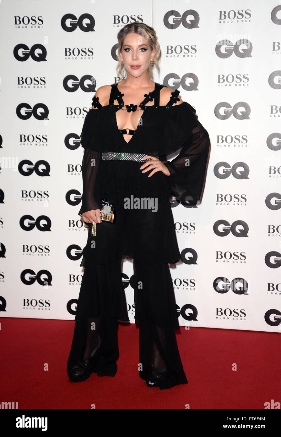 GQ Men Of The Year Awards  Featuring: Katherine Ryan Where: London, United Kingdom When: 05 Sep 2018 Credit: Tony Oudot/WENN - Stock Image