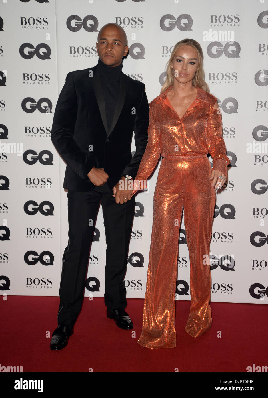 GQ Men Of The Year Awards  Featuring: Katie Piper Where: London, United Kingdom When: 05 Sep 2018 Credit: Tony Oudot/WENN - Stock Image