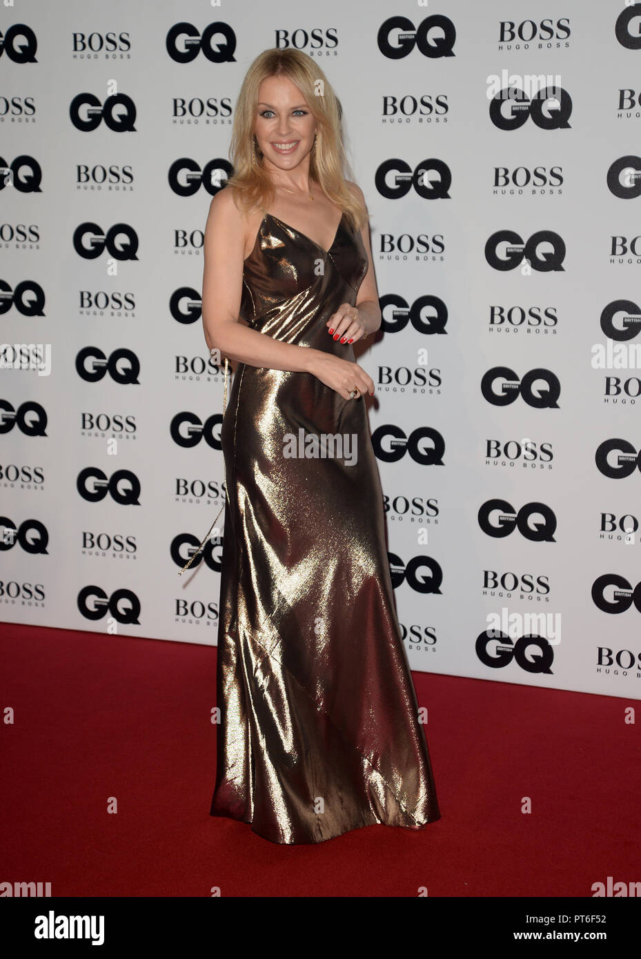 GQ Men Of The Year Awards  Featuring: Kylie Minogue Where: London, United Kingdom When: 05 Sep 2018 Credit: Tony Oudot/WENN - Stock Image