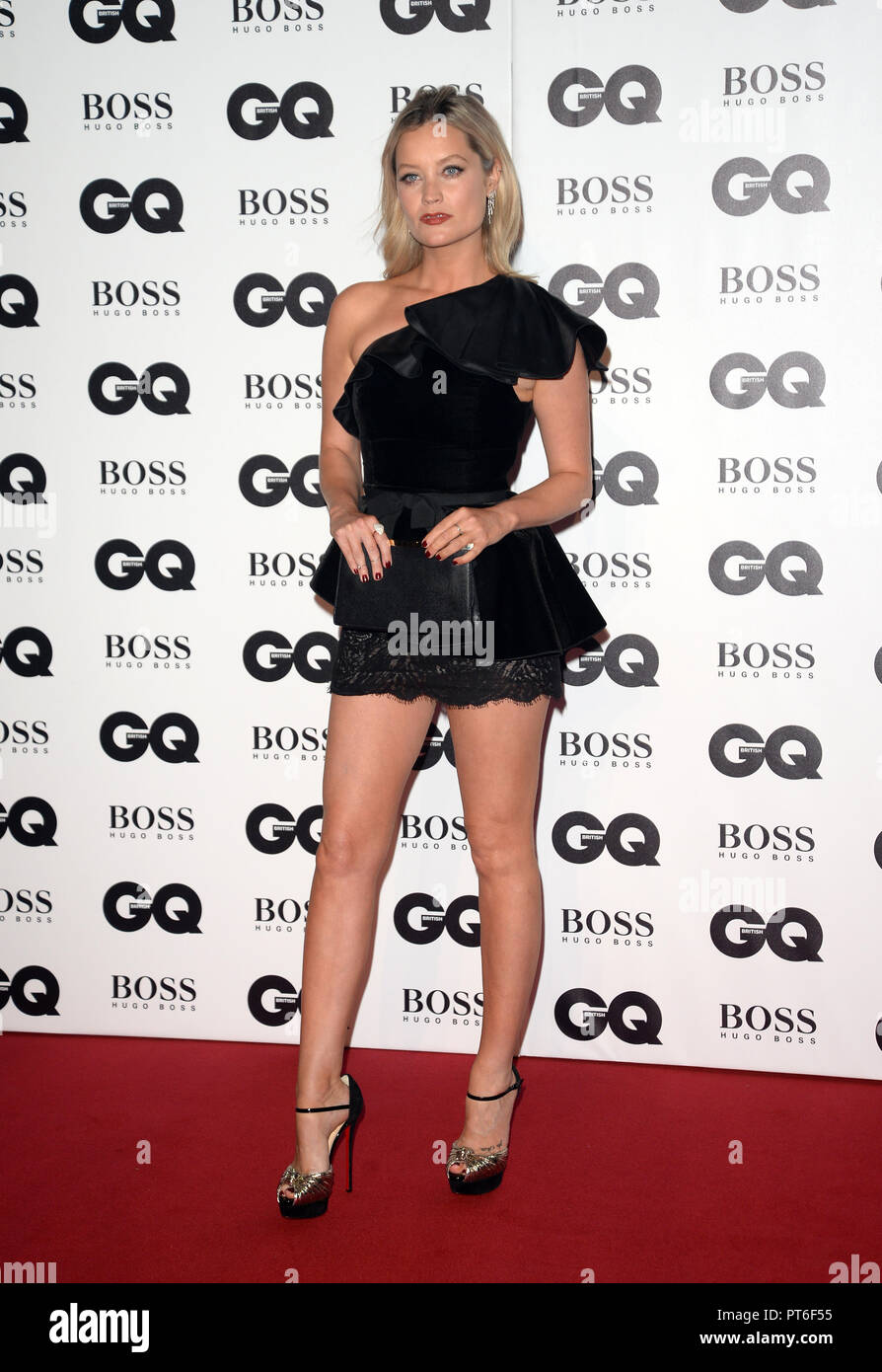 GQ Men Of The Year Awards  Featuring: Laura Whitmore Where: London, United Kingdom When: 05 Sep 2018 Credit: Tony Oudot/WENN - Stock Image
