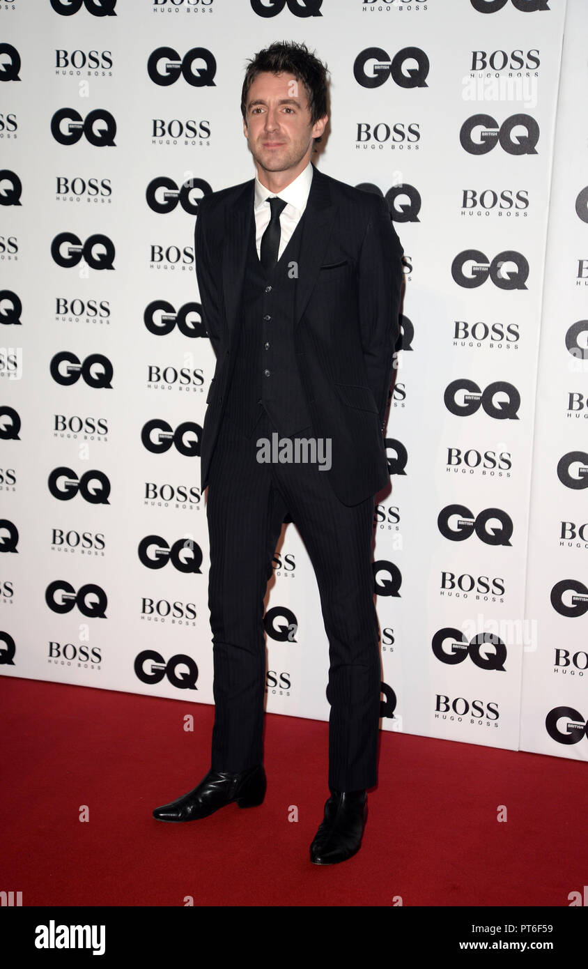 GQ Men Of The Year Awards  Featuring: Miles Kane Where: London, United Kingdom When: 05 Sep 2018 Credit: Tony Oudot/WENN - Stock Image