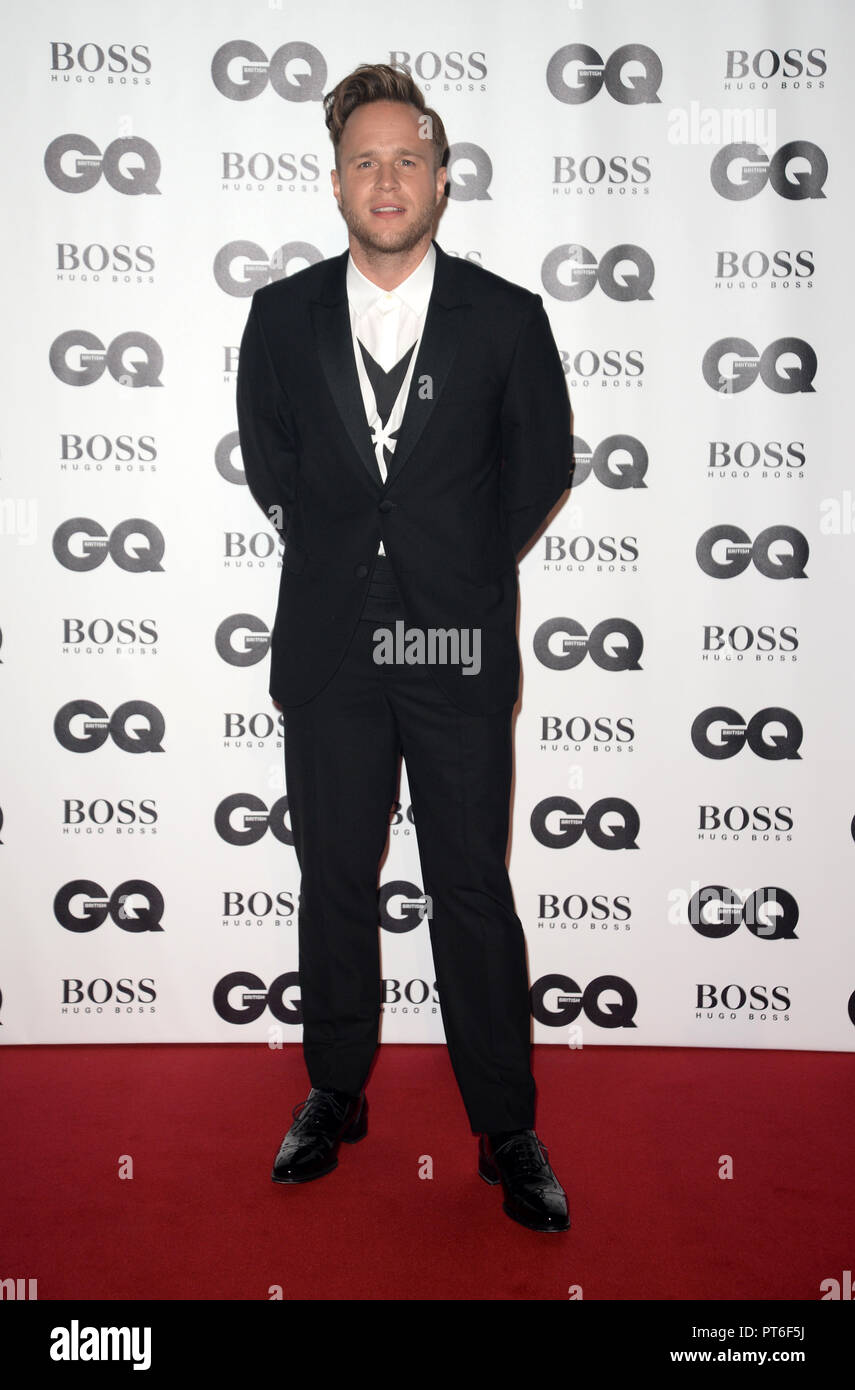 GQ Men Of The Year Awards  Featuring: Olly Murs Where: London, United Kingdom When: 05 Sep 2018 Credit: Tony Oudot/WENN - Stock Image