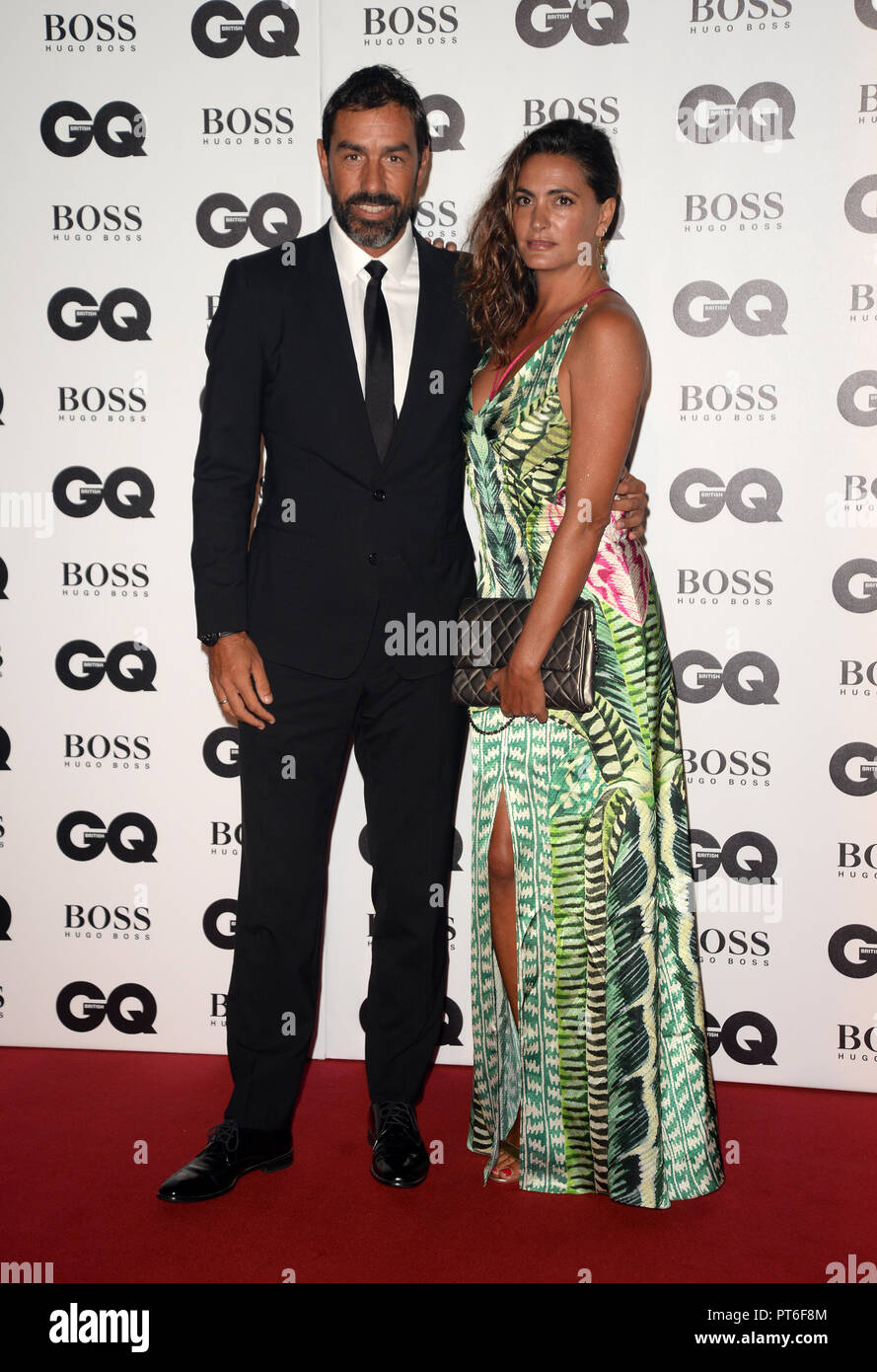 GQ Men Of The Year Awards  Featuring: Robert Pires Where: London, United Kingdom When: 05 Sep 2018 Credit: Tony Oudot/WENN - Stock Image