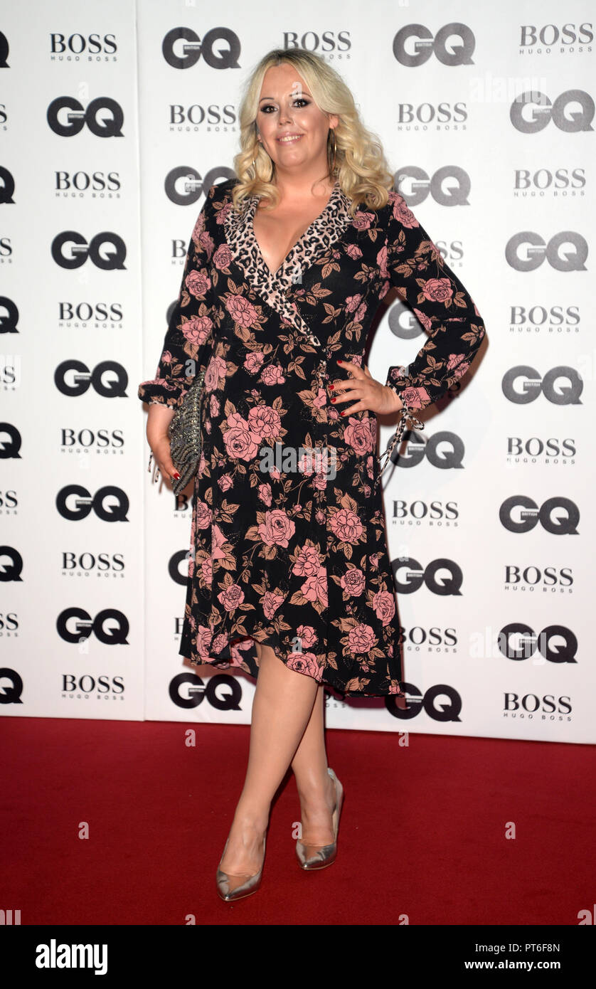 GQ Men Of The Year Awards  Featuring: Roisin Conaty Where: London, United Kingdom When: 05 Sep 2018 Credit: Tony Oudot/WENN - Stock Image