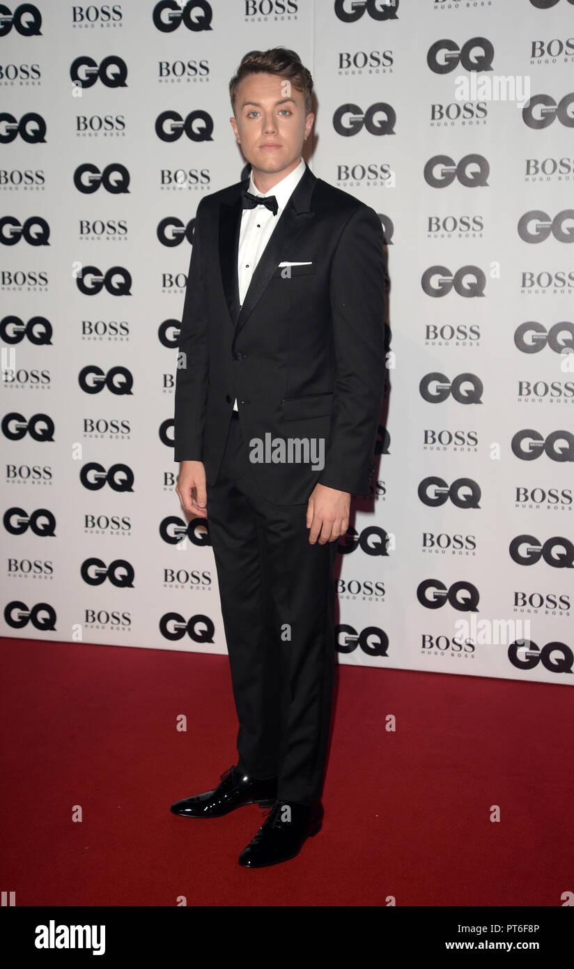 GQ Men Of The Year Awards  Featuring: Roman Kemp Where: London, United Kingdom When: 05 Sep 2018 Credit: Tony Oudot/WENN - Stock Image